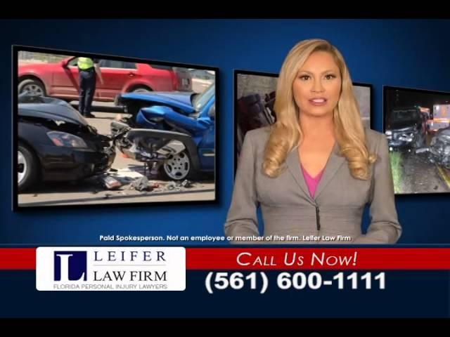 Boca Raton Personal Injury Lawyer   561-395-8055   Leifer Law Firm