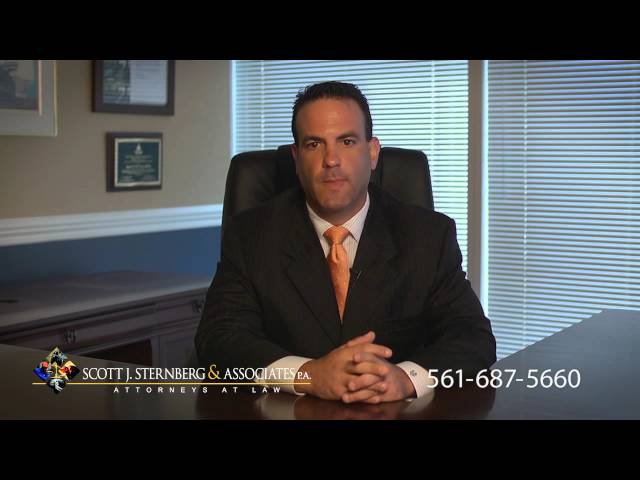 West Palm Beach Auto Accident Attorney - Scott J Sternberg & Associates PA - 561-687-5660