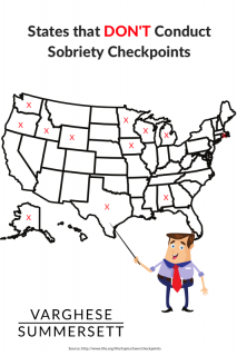 Which States Conduct DUI/DWI Checkpoints?