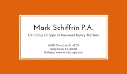 Mark Schiffrin P.A. 2017-08-19