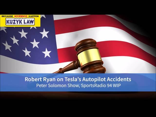 Car Accident Attorney Robert Ryan's Interview:Tesla Accidents Involving Autopilot
