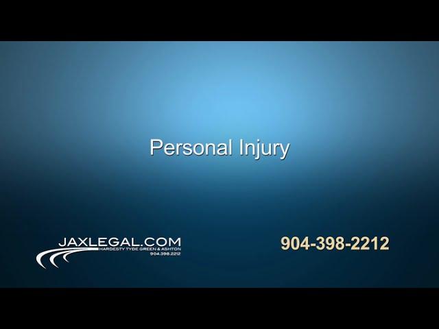 Jacksonville Personal Injury Lawyers | Hardesty, Tyde, Green & Ashton